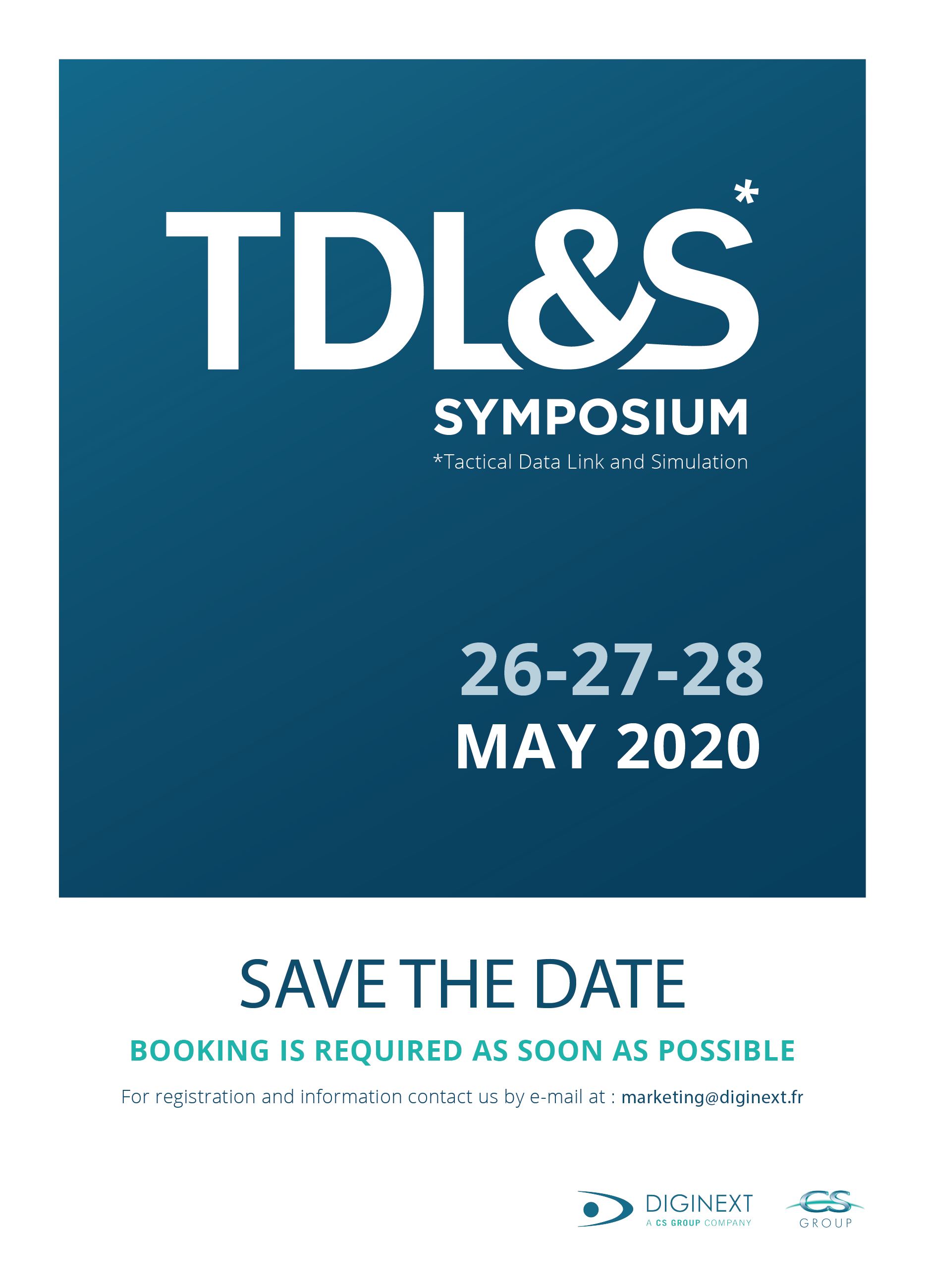 TDLS 2020 SAVE THE DATE